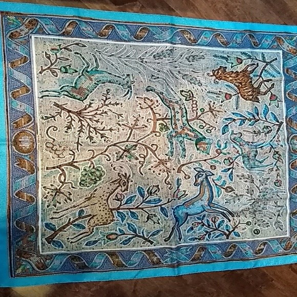 79637278ebef Hermes Accessories | Square Silk Scarfshawl With Original Box | Poshmark